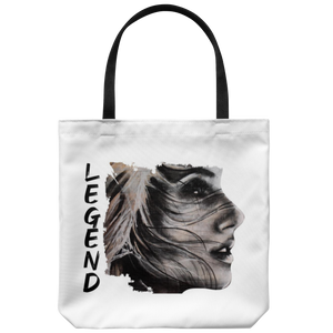 Be Beautiful Tote Bag White