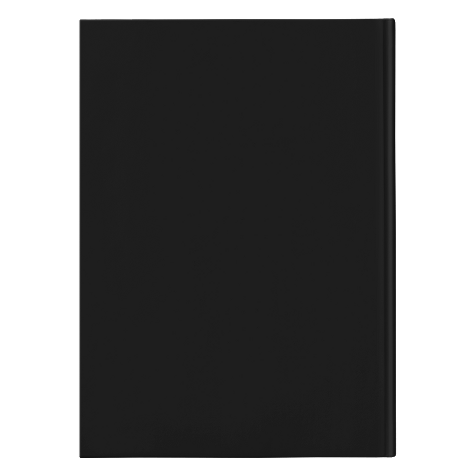 Be a Legend Hardcover Journal Black