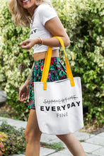 """Everyday Fine"" Bottomless Tote Bag"