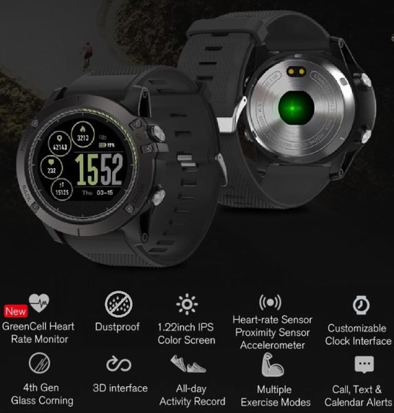 Smartwatch Tactical V5 | ADOGADGETS