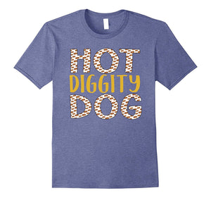 aeb905a2 Amazing DTARemarkable DTA Hot Diggity Dog Fun Graphic T-Shirts for Hot Dog  Fans