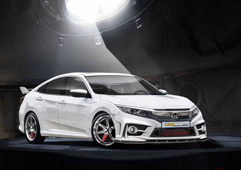 Honda Civic 2019 bodykit
