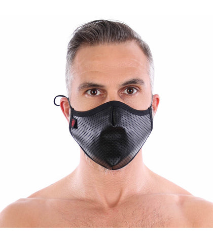 TOF PARIS: Fetish Mask Black