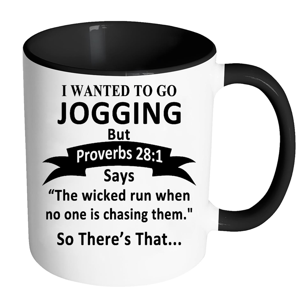 I Wanted To Go Jogging But Proverbs 28_1