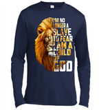 I'm No Longer A Slave To Fear I Am A Child Of God Lion