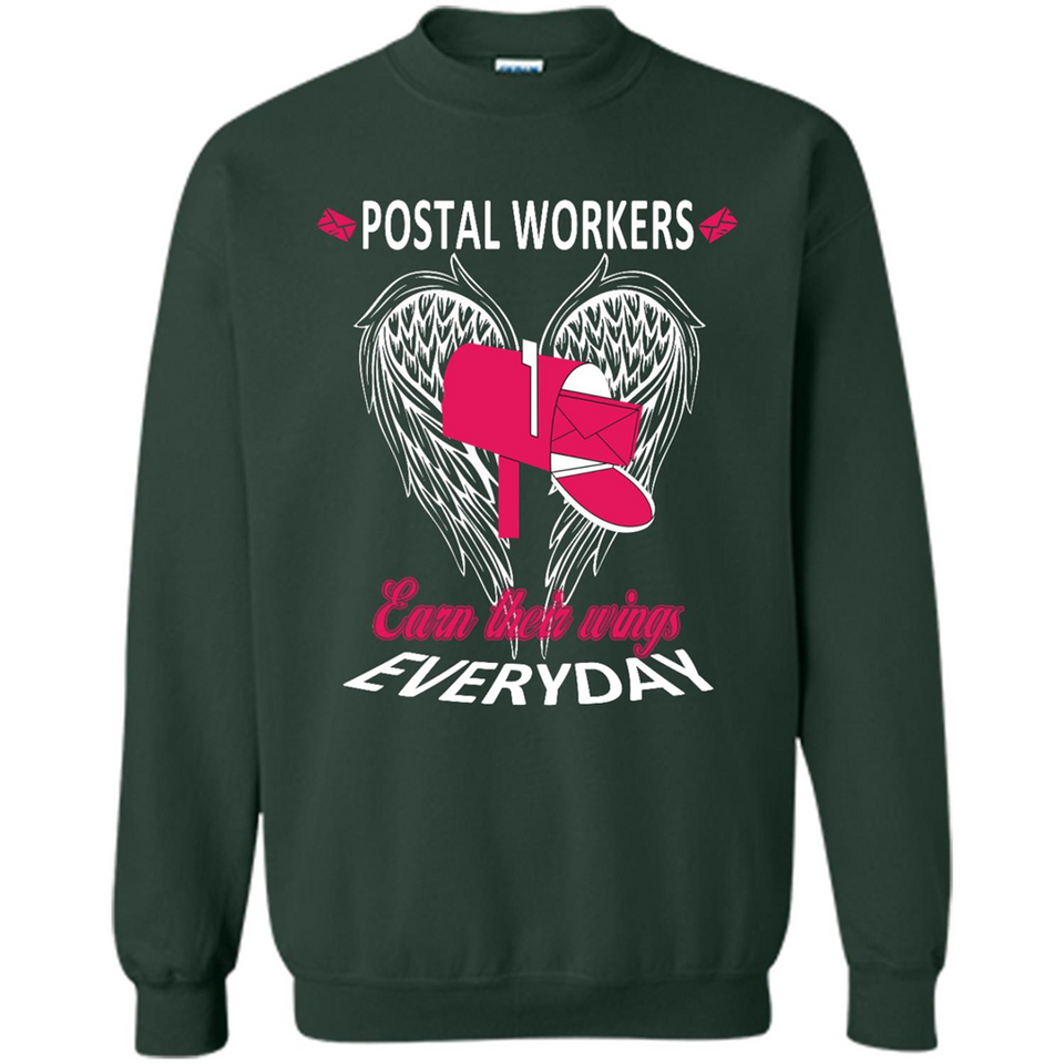 Postal Workers Earn Their Wings Everyday