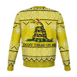 Dont T r e a d On Me Funny Christmas Sweater