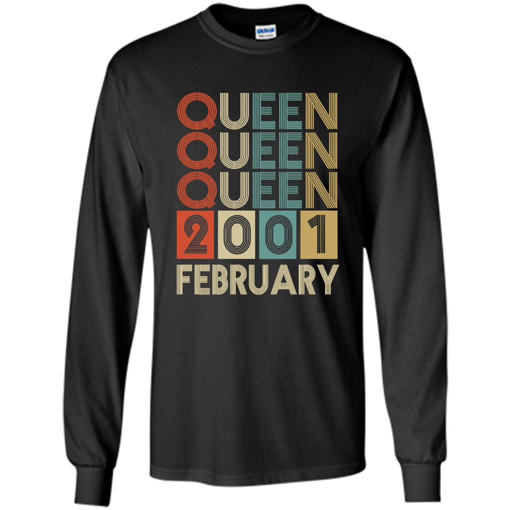 Birthday Gift, Queen Was Born In February 2001 T Shirt