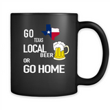 Go Texas Local Beer or Go Home