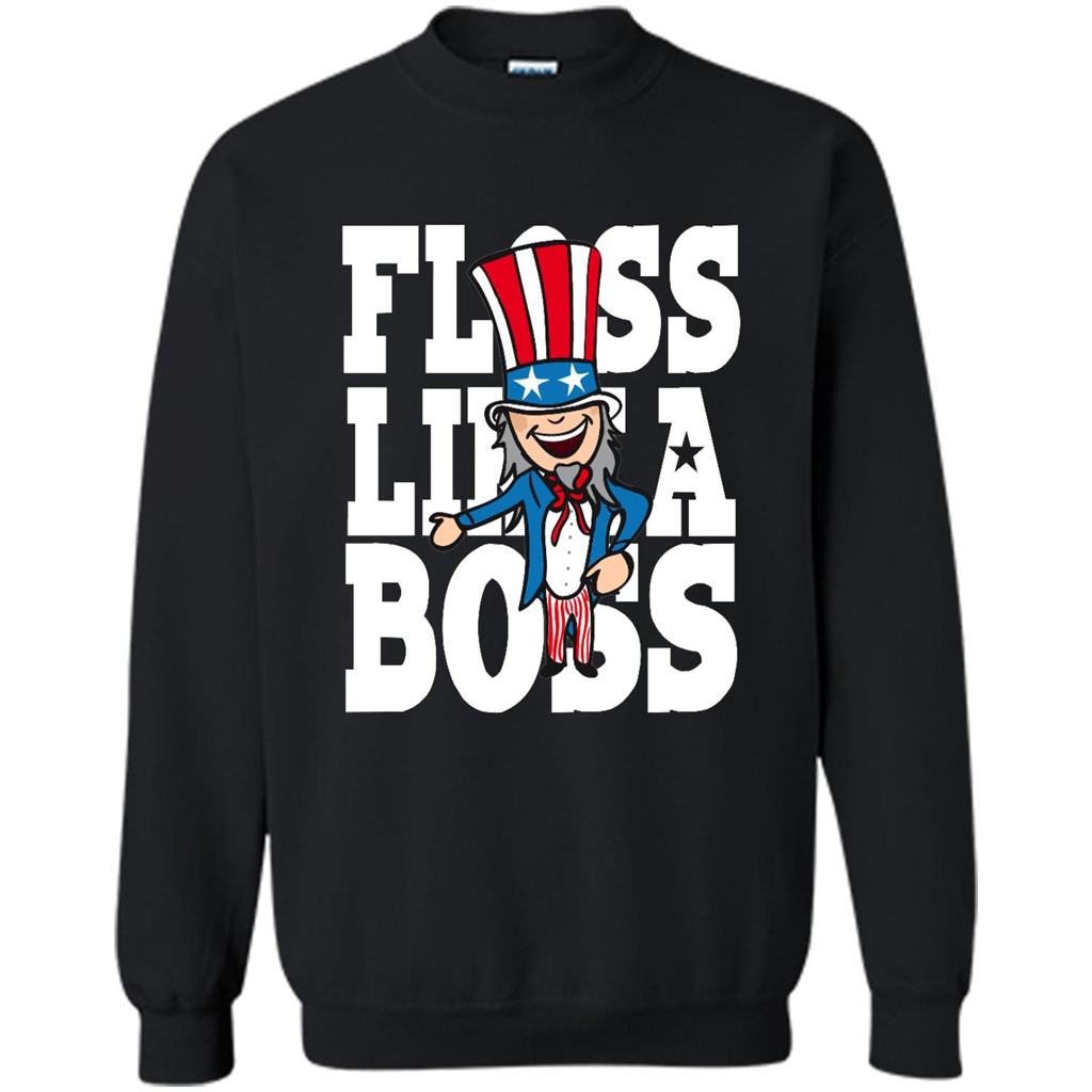 Floss Like A Boss Uncle Sam Dance