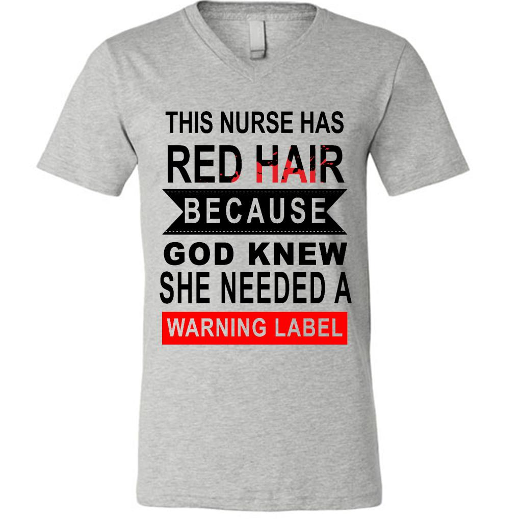 This Nurse Has Red Hair Because God Knew She Needed A Warning Label W