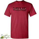 Meme Est. 2018 - GrandMother Gift, Grandma Gift - Leave Your Kids' Name and Year to Personalize