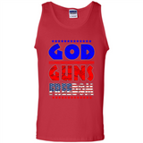 God Guns Freedom, American Flag