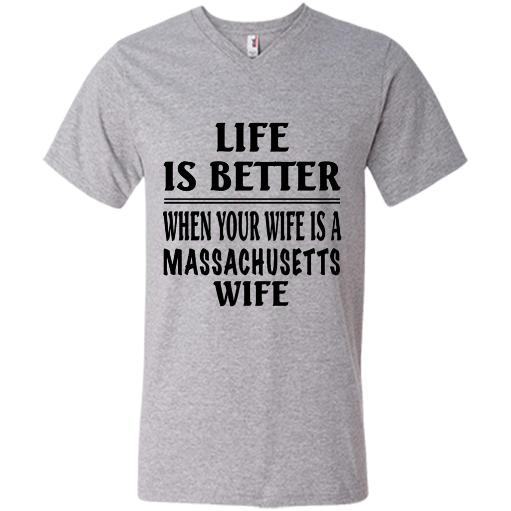 Life Is Better When Your Wife Is A Massachusetts Wife