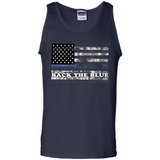 Back the Blue Thin Blue Line American Flag