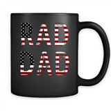 Rad Dad Funny Father's Day 4th of July