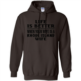 Life Is Better When Your Wife Is A Rhode Island Wife