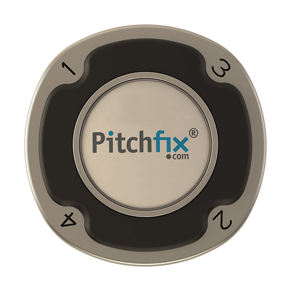 Black Pitchfix Multimarker Chip Golf Ball Marker