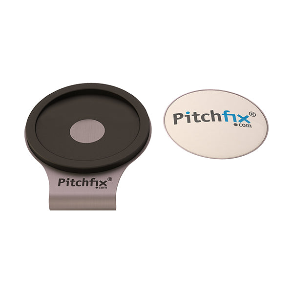 Gun Pitchfix Hat and Cap Clip Golf ball marker