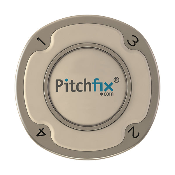 White Pitchfix Multimarker Chip Golf Ball Marker