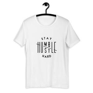 Stay Humble Hustle Hard Fitness Tee