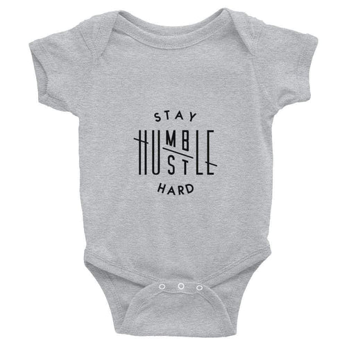 ,Stay Humble Hustle Hard,Stay Humble Hustle Hard Infant Bodysuit,e-preneurs
