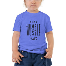Load image into Gallery viewer, ,Stay Humble Hustle Hard,Stay Humble Hustle Hard Toddler Short Sleeve Tee,e-preneurs