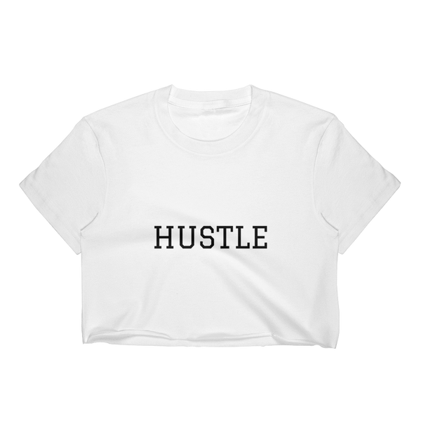 Stay Humble Hustle Hard S Stay Humble Hustle Hard Crop Top-Entrepreneur Lifestyle Clothing