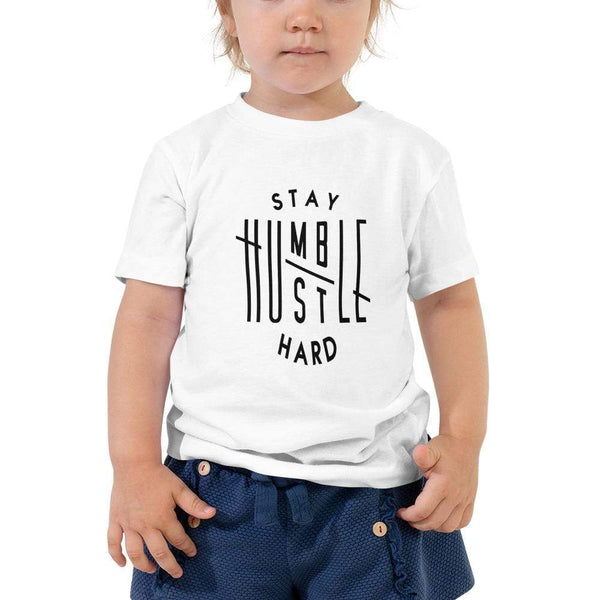 ,Stay Humble Hustle Hard,Stay Humble Hustle Hard Toddler Short Sleeve Tee,e-preneurs