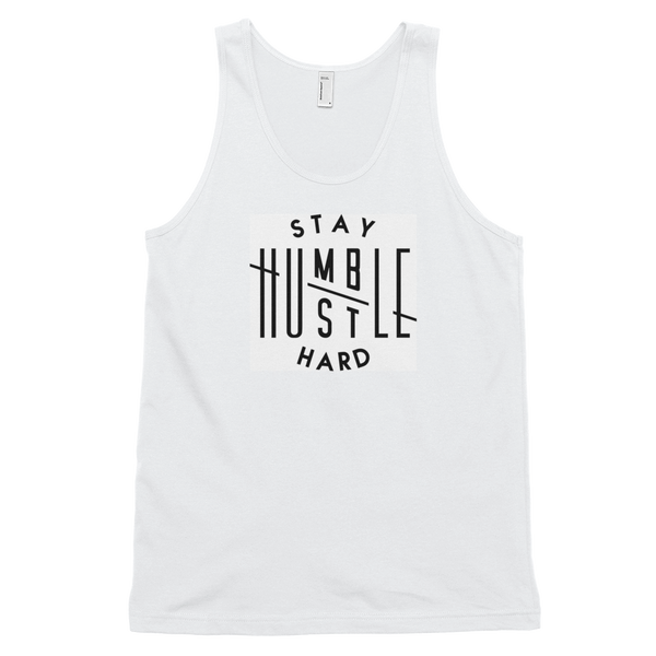 Stay Humble Hustle Hard XS Stay Humble Hustle Hard Tank-Entrepreneur Lifestyle Clothing