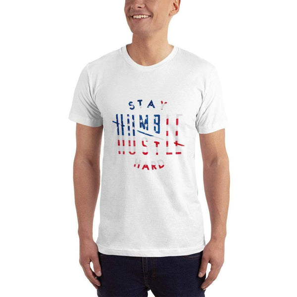 Stay Humble Hustle Hard XS Stay Humble Hustle Hard USA T-Shirt-Limited Edition