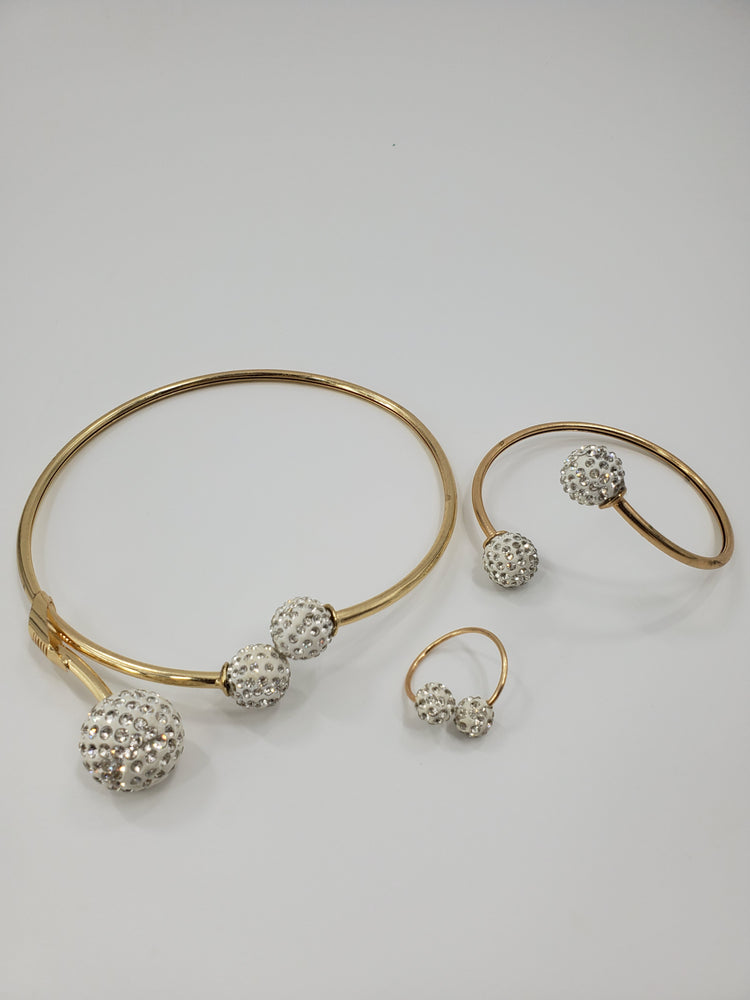 Chaga Gold Fine Jewelry Set Accessories