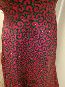 Womens African Print High Waist Full Skirt Clothing