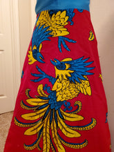 Load image into Gallery viewer, Womens African Print High Waist Full Skirt One Size Clothing