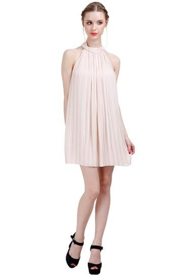 Pleated Dress Small Clothing