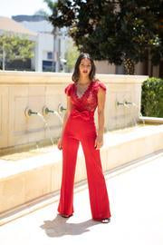 *party Red Romper Clothing