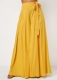 Load image into Gallery viewer, * Long Wide Pants With Butterfly Knot Yellow Clothing