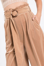 Load image into Gallery viewer, Solid Taupe Velveteen High Waist Pants - So Soft Clothing