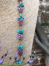 Wisteria Kumi-bead necklace