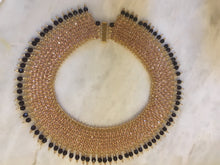 Maharani Regal Lace collar necklace