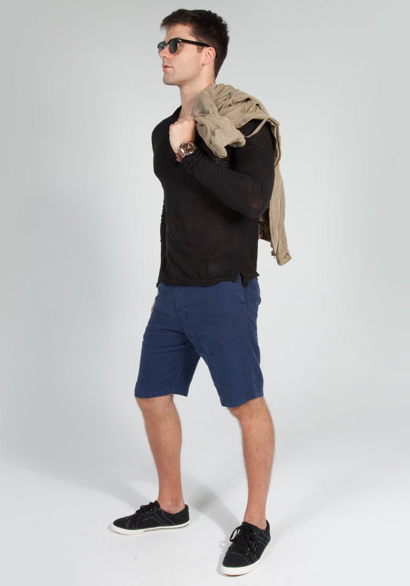 100% LINEN SHORT S to XXXL - Claudio Milano