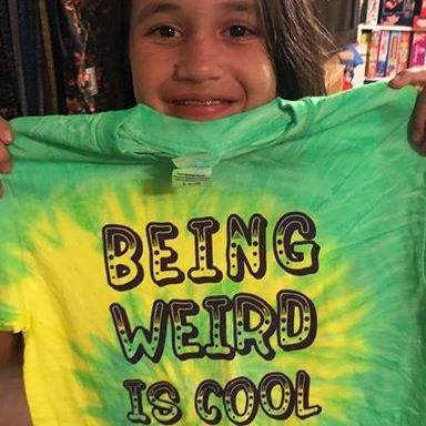 Being Weird Is Cool
