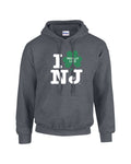 Irish I Really Like NJ Dark Heather Hoodie