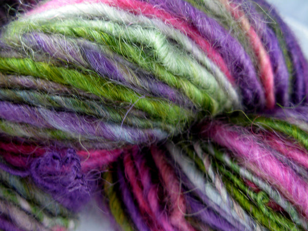 Corriedale Wool Roving, Briar Patch