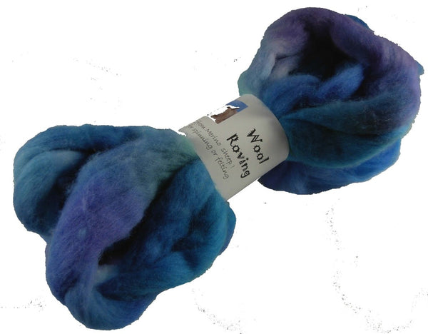 Corriedale Wool Roving, Crocus