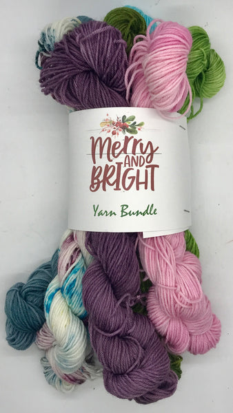 Merry & Bright Holiday Yarn Bundle