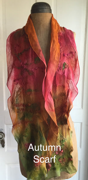 Nuno Felt Scarf/Shawl Kit