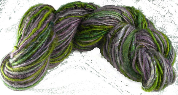 Merino or Blue Faced Leicester Roving, Pansy