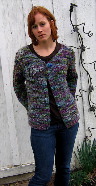 Slubby Nubby Cardigan Kit