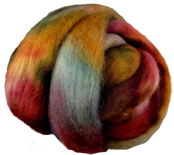Corriedale Wool Roving, Sedona